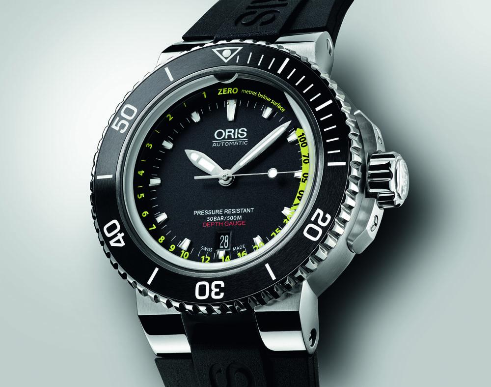 263ff6dd30c8 Компания «Oris», последовательно совершенствующая одно из четырёх своих  направлений – коллекцию часов для подводного погружения и плавания, ...